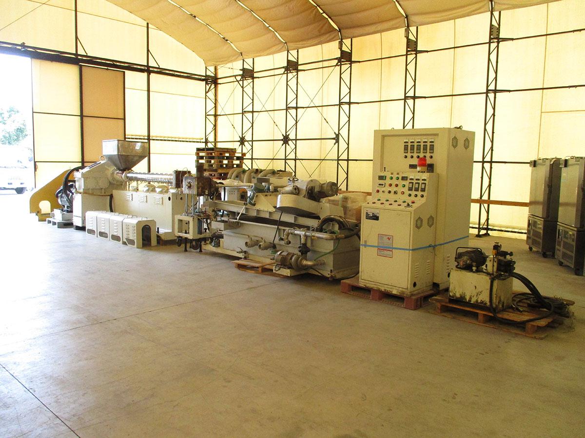 環境機械、中古機械、ペレタイジングマシン一式