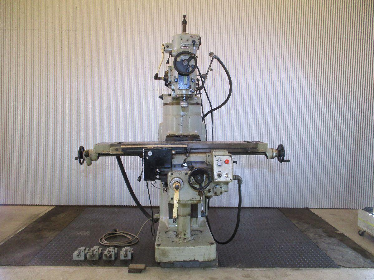 工作機械 中古機械 フライス盤 立ちフライス