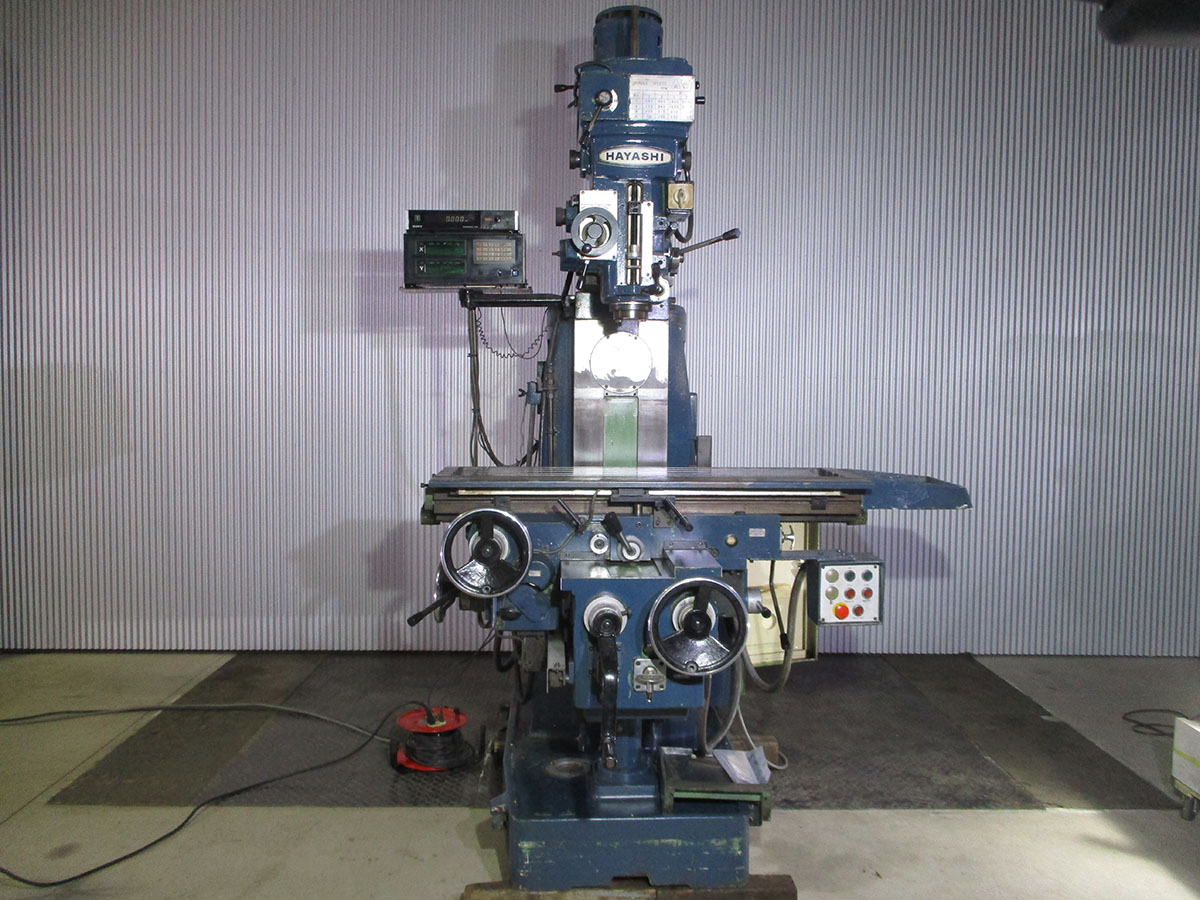 工作機械 フライス盤 中古機械