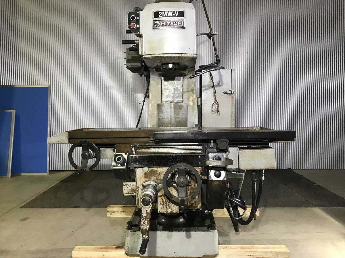 中古機械 工作機械 日立精工 ヒザ型立フライス盤 2MW-V