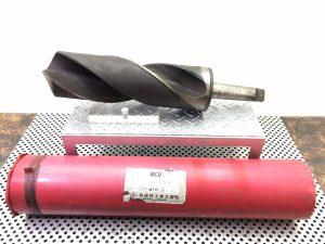 岡崎精工 大径テーパシャンクドリル φ120 MT5 溝長370mm MCO材